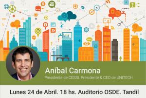 """Aníbal Carmona ofrecerá una charla sobre """"Transformación digital"""""""