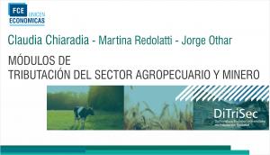 Módulo de Tributación del  Sector Agropecuario y Minero