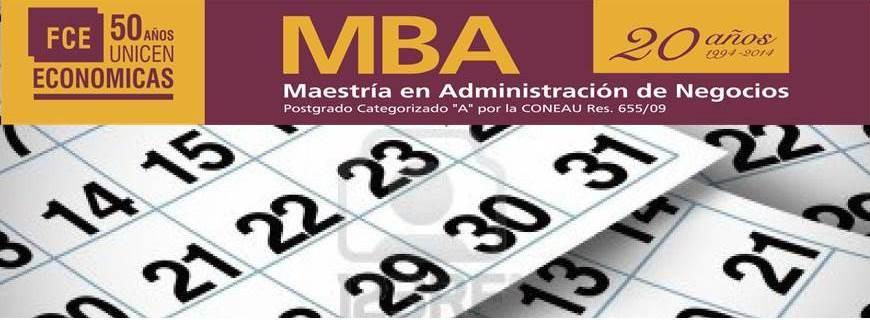Cronograma Actividades Académicas Ed. XXIII