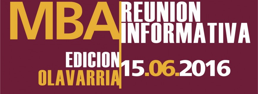 Charla Informativa MBA – Olavarría