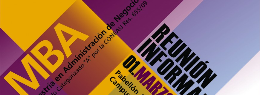 MBA 2017 – Reunión Informativa