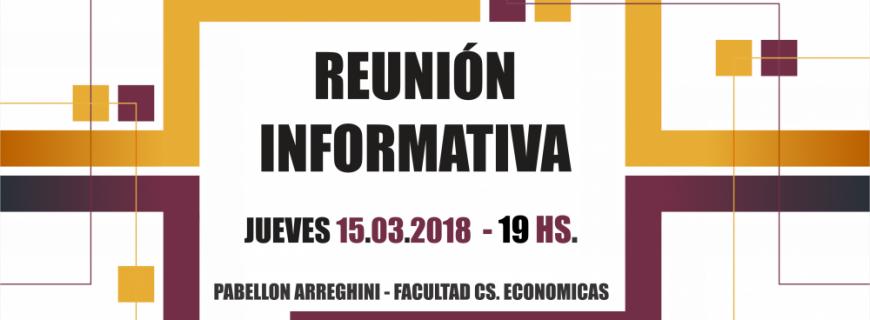 Reunión Informativa MBA – Inicio Mayo 2018